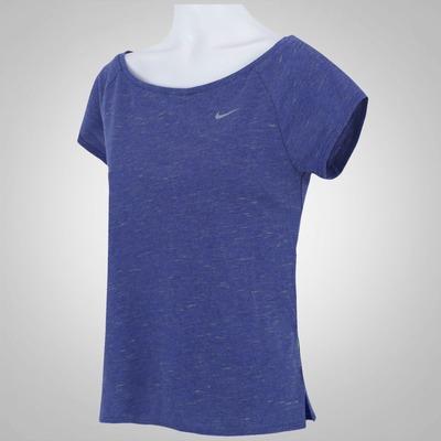 Camiseta Nike Tailwind Neon Slub - Feminina