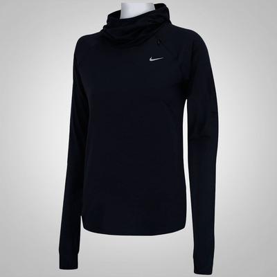 Camiseta Manga Longa Nike Element - Feminina