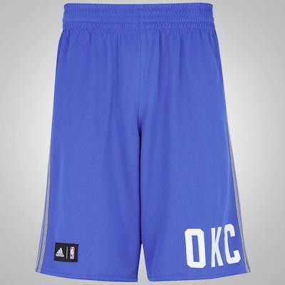 Bermuda adidas Reversível NBA Oklahoma City Thunder - Masculina