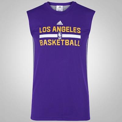 Camiseta Regata adidas Reversível NBA Los Angeles Lakers - Masculina