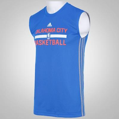 Camiseta Regata adidas Reversível NBA Oklahoma City Thunder - Masculina