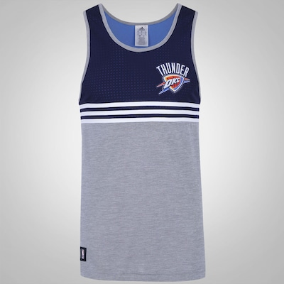 Camiseta Regata adidas WNTR Oklahoma City Thunder - Masculina