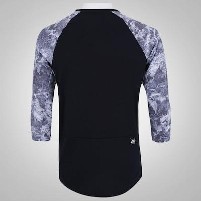 Camiseta Manga 3/4 Nike SB Fern Henley - Masculina