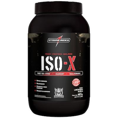 Whey Protein Isolado Integralmédica ISO-X - Limonada Suíça - 907g