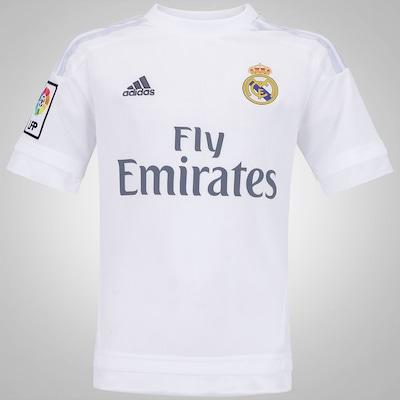 Camisa Real Madrid I adidas - Infantil