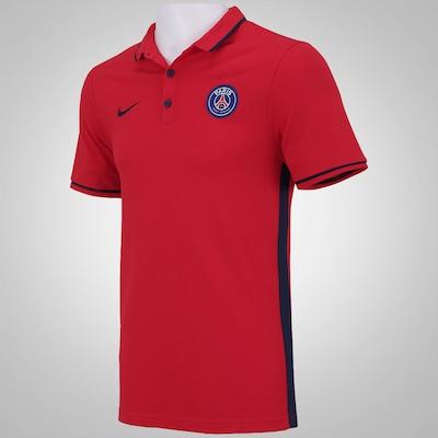 Camisa Polo do PSG Authentic 15 Nike - Masculina
