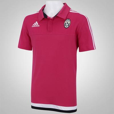Camisa Polo de Viagem adidas Juventus 15 - Masculina