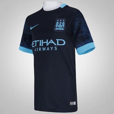 Camisa do Manchester City II 15/16 s/n° Nike - Infantil