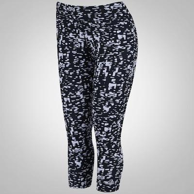 Calça Corsário Estampada com Bolso adidas GYM ATHL Gráfica - Feminina