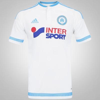 Camisa Olympique de Marseille I 15/16 adidas - Masculina