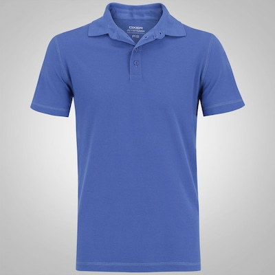 Camisa Polo Oxer Lisa Dry - Masculina