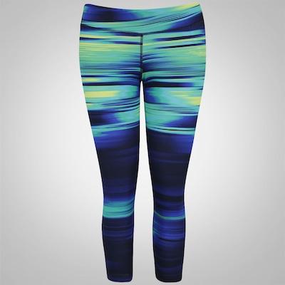 Calça Corsário Estampada com Bolso adidas Gym Athletic Gráfica - Feminina