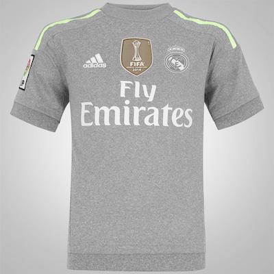 Camisa Real Madrid II 15/16 adidas - Infantil
