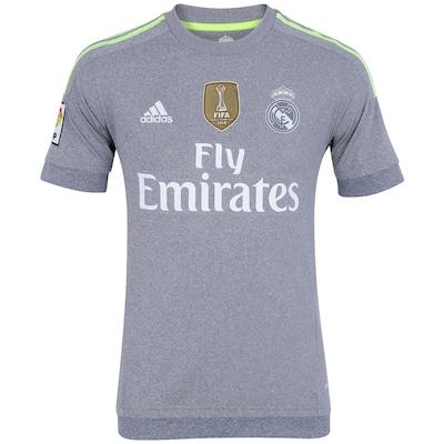 Camisa do Real Madrid II 15/16 s/ nº adidas