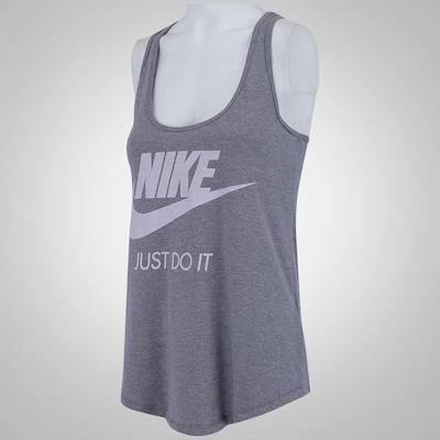 Camiseta Regata Nike Gym Vintage - Feminina