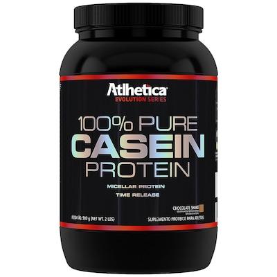 Proteina Atlhetica 100% Pure Casein Protein - Chocolate - 900g