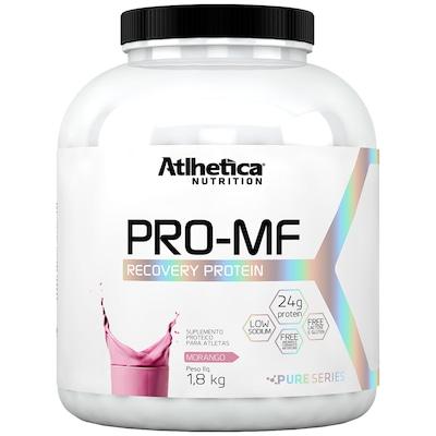 Proteína Atlhetica PRO-MF Recovery Protein - Morango - 1,8Kg