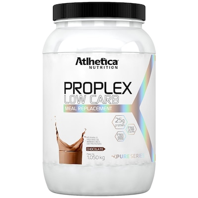 Proteína Atlhetica Proplex Low Carb - Chocolate - 1,05 Kg