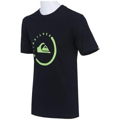 Camiseta Quiksilver Active Logo Ink - Masculina