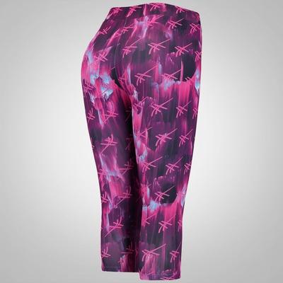 Calça Corsário Estampada com Bolso Asics Training - Feminina