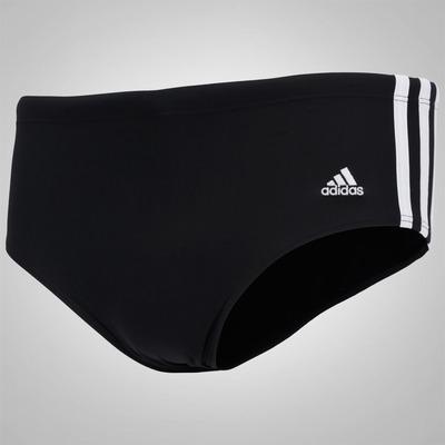 Sunga adidas Lateral Larga 3S - Infantil