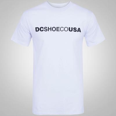 Camiseta DC Shoes Co USA - Masculina
