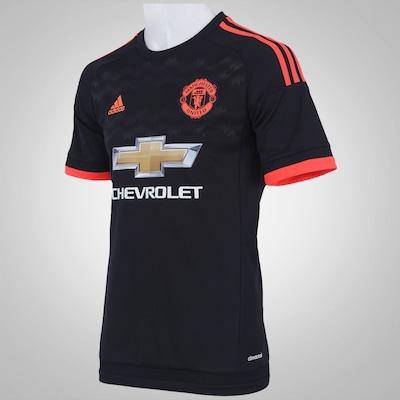 Camisa Manchester United III 15/16 adidas - Masculina