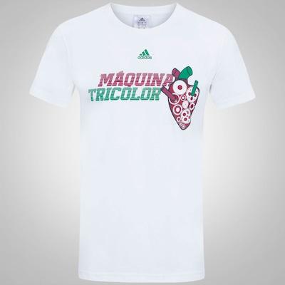 Camiseta do Fluminense Máquina Tricolor adidas - Masculina