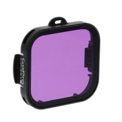 Filtro de Lente Magenta para Caixa de Mergulho GoPro