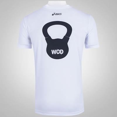 Camiseta Asics M SS Wod Crossfit - Masculina