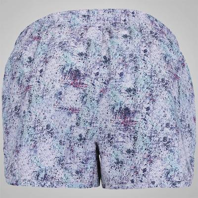 Shorts Oxer Pollock Print - Feminino