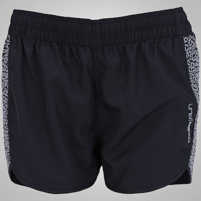 Shorts Oxer Onca Refletiva - Feminino