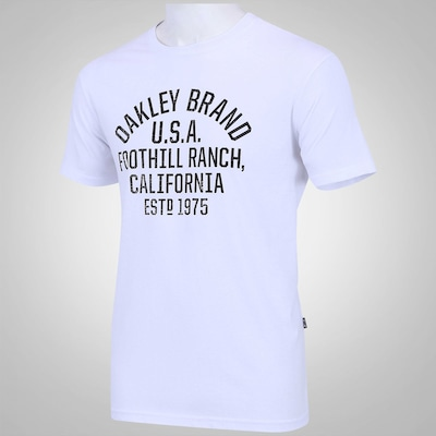 Camiseta Oakley Dogtag - Masculina