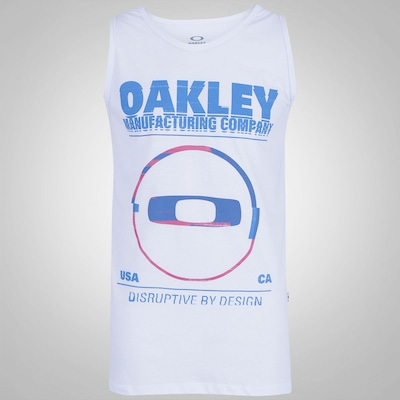 Camiseta Regata Oakley Seeing Double - Masculina