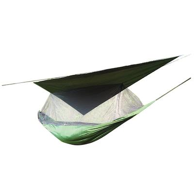 Rede de Camping Echolife com Mosquiteiro e Sobreteto