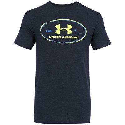 Camiseta Under Armour Triblend Lockertag - Masculina