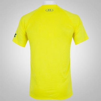 Camiseta Under Armour Wordmark Stacked - Masculina