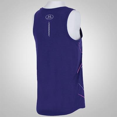 Camiseta Regata Under Armour Oversize Run Graphic - Feminina