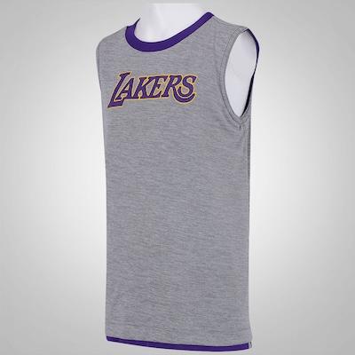 Camiseta Regata Reversível adidas NBA Los Angeles Lakers - Infantil