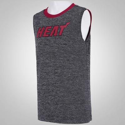 Camiseta Regata Reversível adidas NBA Miami Heat - Infantil
