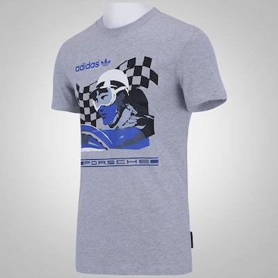 Camiseta adidas Porsche Flag - Masculina