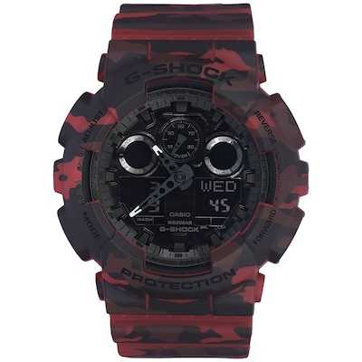 Relógio Digital Analógico Casio G-Shock GA100CM - Masculino