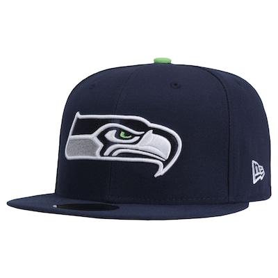 Boné Aba Reta New Era Seattle Seahawks - Fechado - Adulto