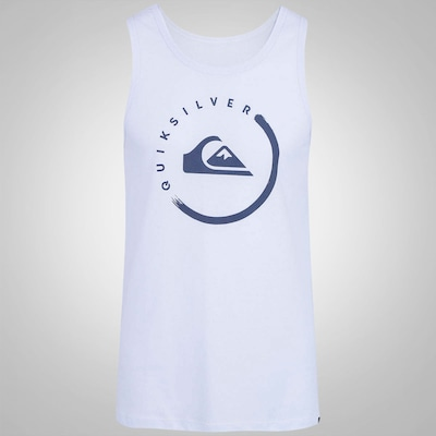 Camiseta Regata Quiksilver Active Logo INK - Masculina