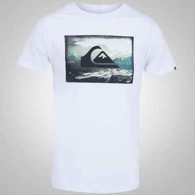 Camiseta Quiksilver Shapped Mountains - Masculina