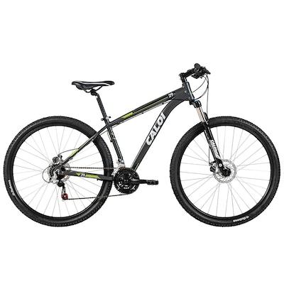 Bicicleta Caloi 29 - Aro 29 - Freio a Disco - Câmbios Shimano - 21 Marchas