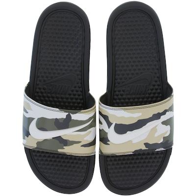 Chinelo Nike Benassi JDI Print - Slide - Masculino