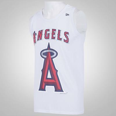 Camiseta Regata New Era Basic Los Angeles Angels - Masculina
