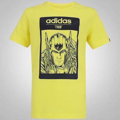 Camiseta adidas Gráfica Thor - Infantil