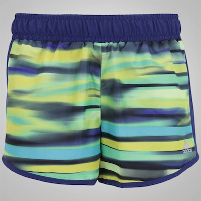 Shorts adidas YG Clima Gráfico WV - Infantil